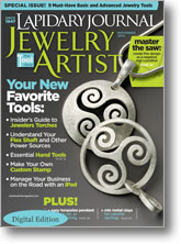 Lapidary Journal Jewelry Artist, November 2010