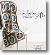 Discover crochet gift ideas with the Crocheted Gifts book.