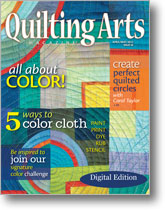 Quilting Arts April/May 2012