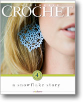 Find crochet snowflakes beginners and experienced crocheters will love with A Snowflake Story eBook.
