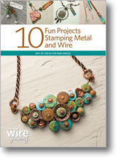 10 Fun Projects Stamping Metal and Wire
