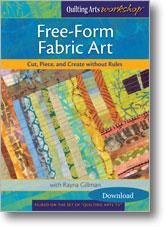 Free-Form Fabric Art