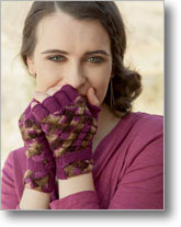 Entrelac Knitting Patterns: Reservoir Mitts