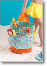 Playful Beach Bucket