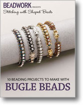 Stitching with Shaped Beads: 10 Beading Projects to Make with Bugle Beads