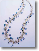 Chain Maille Twist Necklace