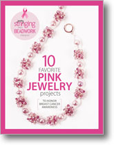 Beadwork and Jewelry Stringing Present: 10 Pink Jewelyr Projects