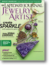 1 Year Subscription to Lapidary Journal Jewelry Artist Magazine