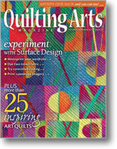Quilting Arts October/November 2013