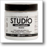 Claudine Hellmuth Studio Multi Medium Matte- 4 oz