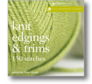 knit edgings and trims