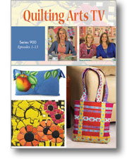 Quilting Arts TV Series 900 - 4-disc DVD Set