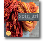 Spin Art Mastering the Craft of Spinning Textured Yarn + DVD