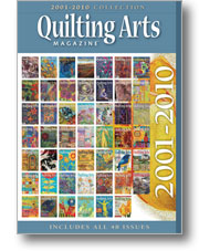 2001-2010 Quilting Arts - CD Collection