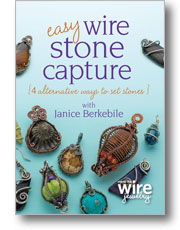 Easy Wire Stone Capture beading video