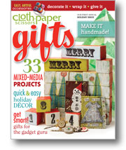 Cloth Paper Scissors Gifts 2010