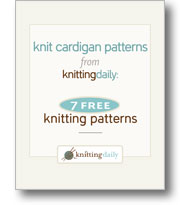 Cardigan Knitting 
