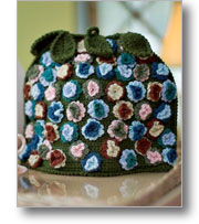 flowered tea cozy