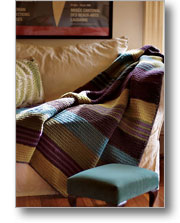 Crochet Afghan Patterns: City Stripes