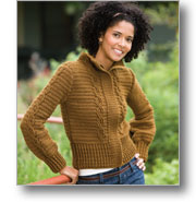 Crochet Cable Jacket