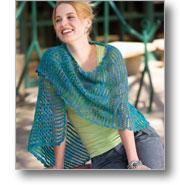 cool wave shawl