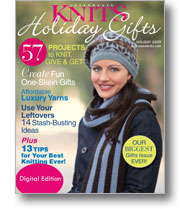 Interweave Knits Holiday Gifts 2009: Digital Edition