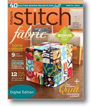 Stitch Fall 2010