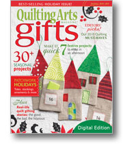 Quilting Arts Gifts 2010/2011 - Digital Edition