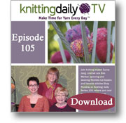 Knitting Daily TV, Episode 105 - Cozy Up at Home