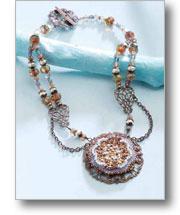 Victorian Pearl Medallion
