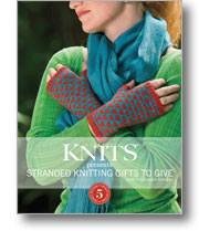 Interweave Knits presents Stranded Knitting Gifts to Give with 5 Colorwork Patterns