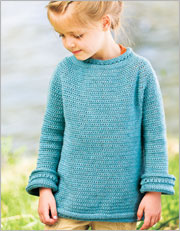 Crochet Kids Patterns: Blueberry Popover