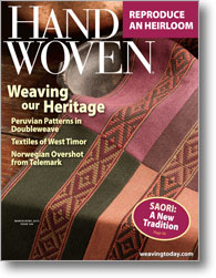 Handwoven November/December 2012