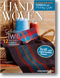 Handwoven Sept/Oct 2013