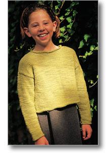 schoolgirl pullover