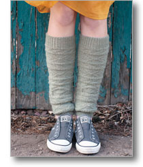 gansey leg warmers