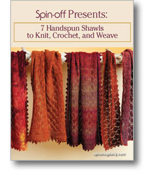 7 handspun shawls to knit, crochet, and weave