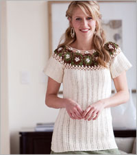 Linked Crochet Tunic