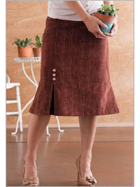 One Pleat Skirt - Beki Wilson