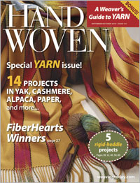Handwoven Recent Issue