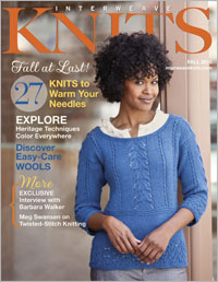 Interweave Knits Recent Issue