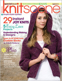 KnitScene Recent Issue