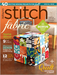 Interweave Stitch Recent Issue
