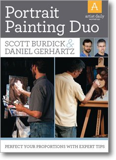 Portrait Painting Duo_oil techniques