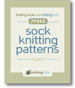 contains step by step instructions for each knitted sock pattern