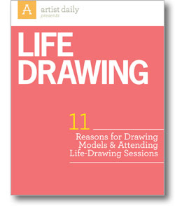 Claim Your Free eBook to learn 11 Reasons for Drawing Models & Attending
