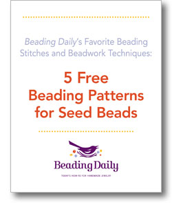 5 Free beading Patterns for Seed Beads