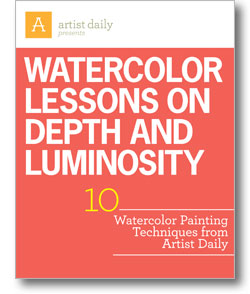 Download your free eBook to get the entire watercolor tutorial and all 10 lessons!
