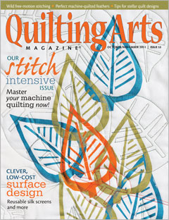 Quilting Arts Magazine Oct/Nov 2011