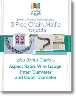 Get your free chainmaille eBook to learn how to create chain maille jewelry today!